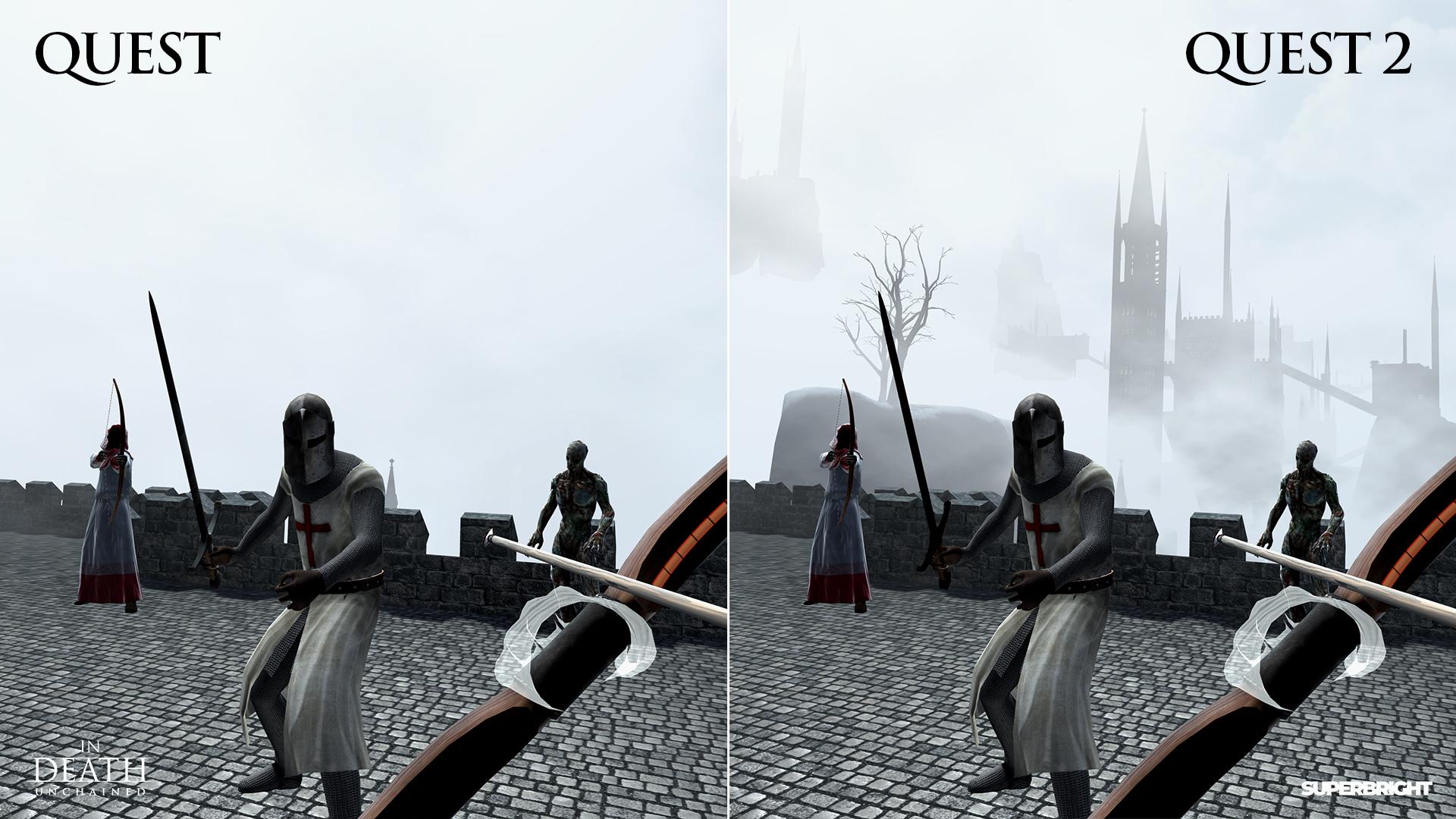 In Death: Unchained Oculus Quest 2 Update vorgestellt
