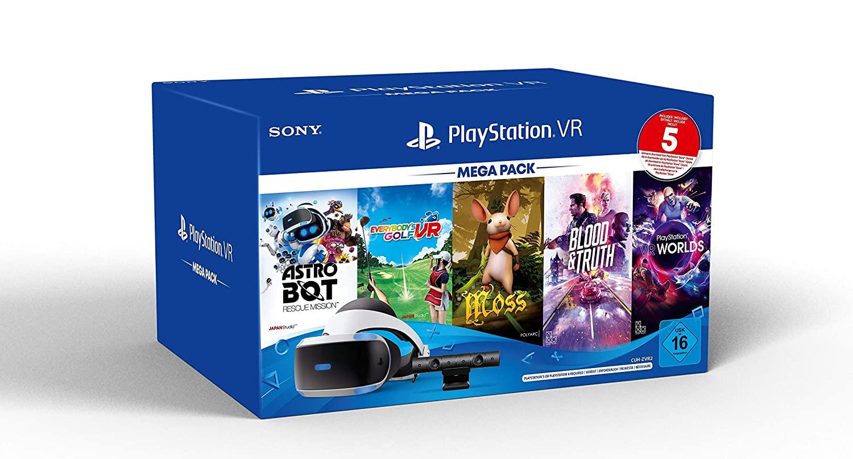 PSVR Mega Pack mit PS5 Adapter jetzt bestellen