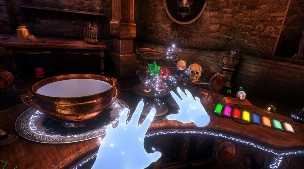 Waltz Of The Wizard Entwicklung für PSVR