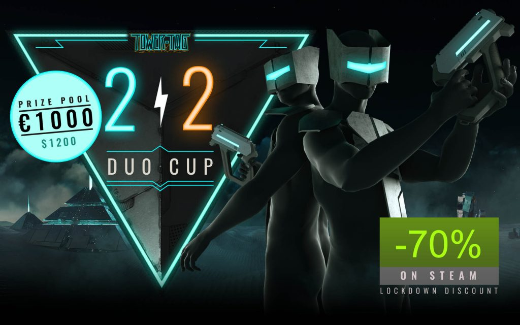 Tower Tag Duo Cup