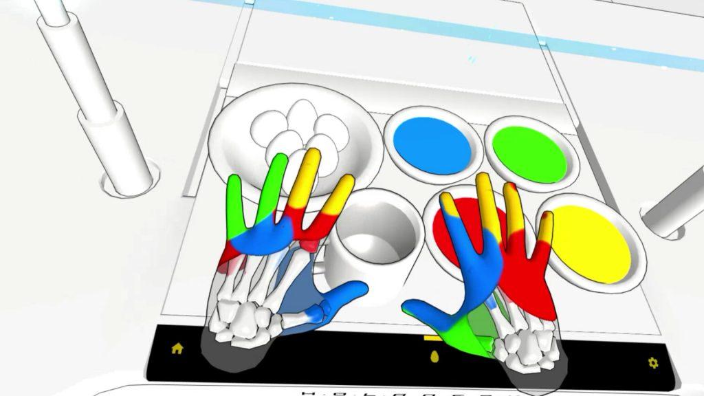 Hand Physics Oculus Quest