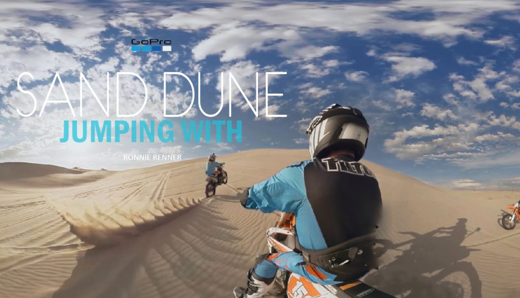 Sand Dune Jumping with Ronnie Renner_Bildmaterial