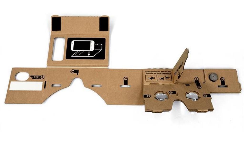 google cardboard, vr adapter