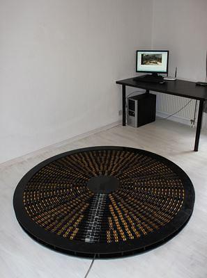 walkmouse, virtual reality, oculus rift, omnidirectional treadmill