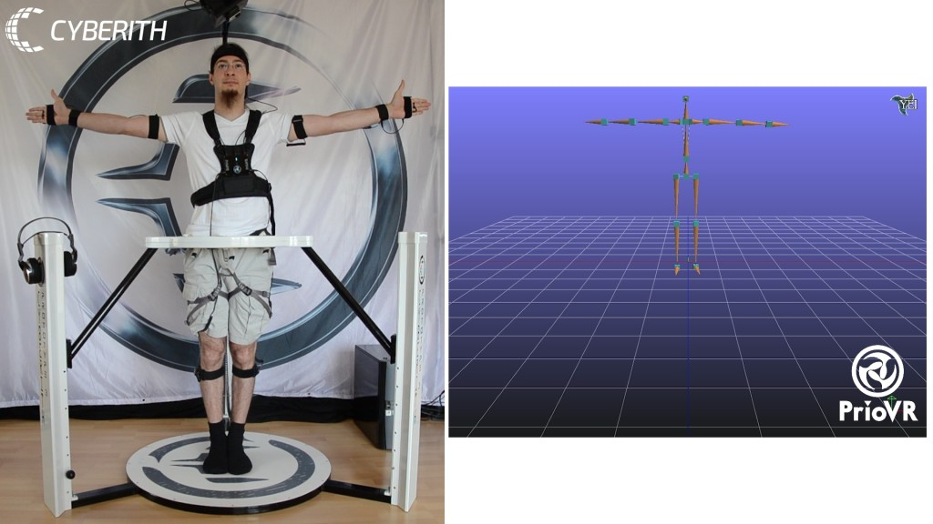 cyberith virtualizer, priovr, virtual reality, holodeck, oculus rift