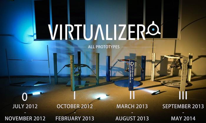 virtualizer, treadmill, vr, cyberith