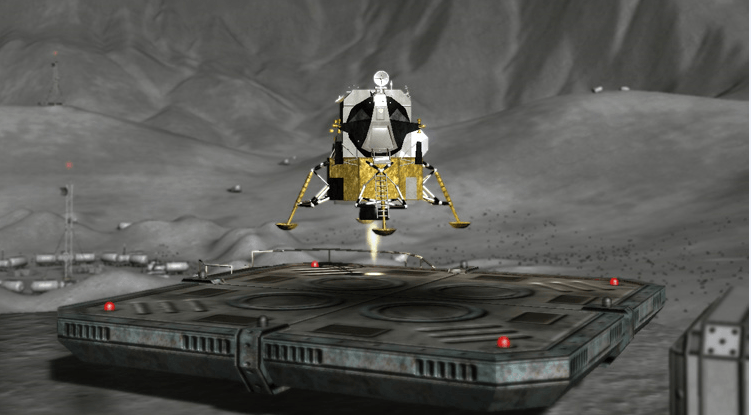 lunar flight, game science center