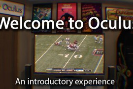 Welcome to Oculus
