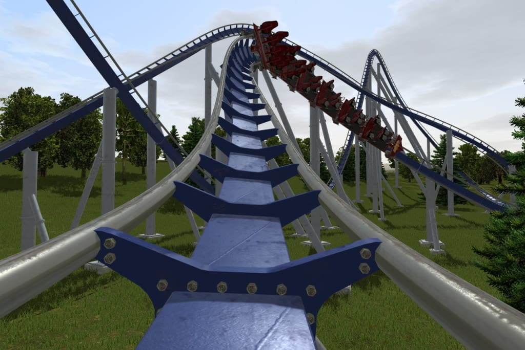 oculus rift, nolimits 2, virtual reality, roller coaster, achterbahn, editor, simulator