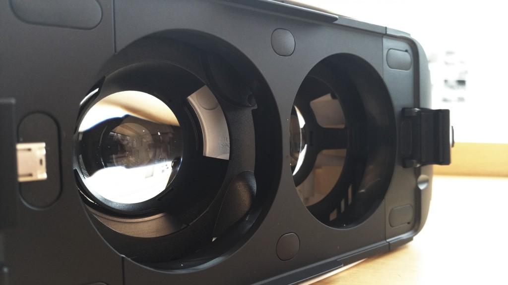 Linsen vom Gear VR Headset
