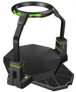 virtuix omni, omnidirectional treadmill, virtual reality, oculus rift