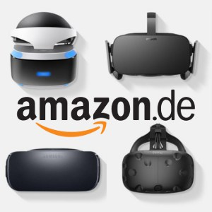 Amazon Banner Virtual Reality Brillen