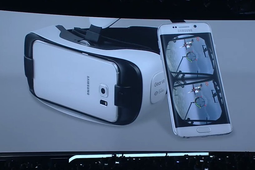 samsung gear vr, galaxy s6, slaxy s6 edge