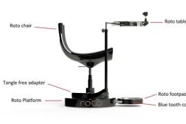 Roto Bürostuhl mit Motor für Oculus Rift und Co.