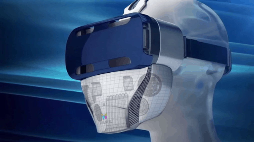 Geruch in Verbindung mit Virtual Reality Headset