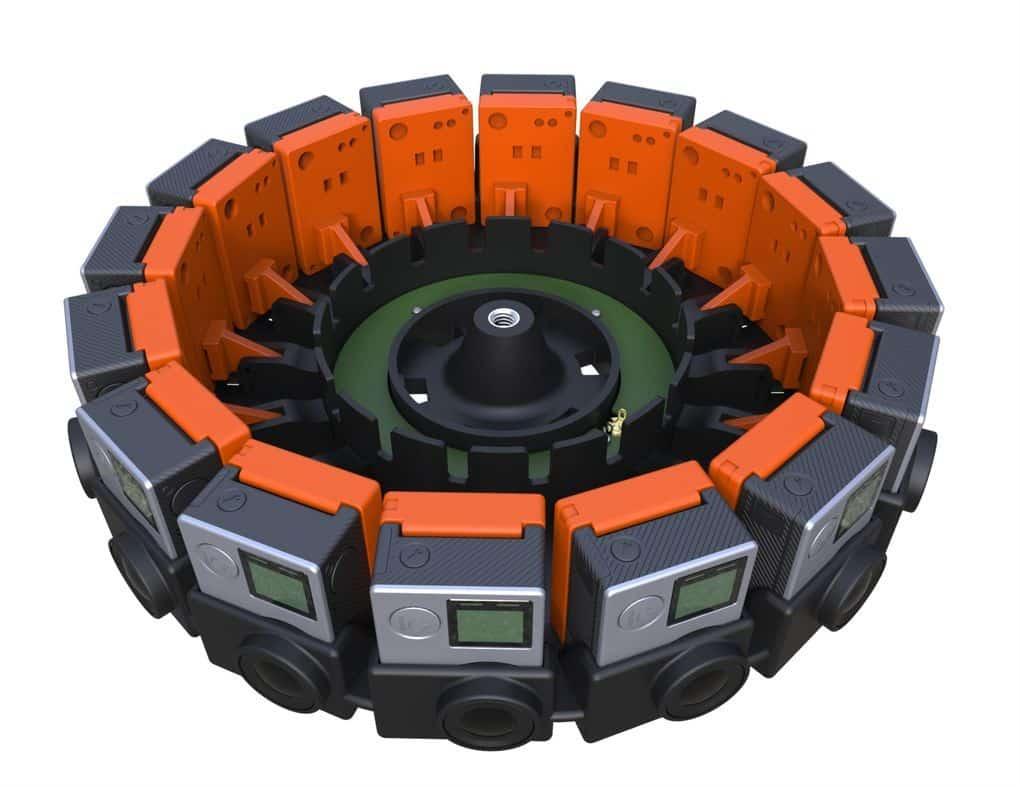 GoPro 360-Grad kamera