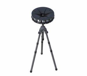 GoPro 360-Kamera mit Stativ
