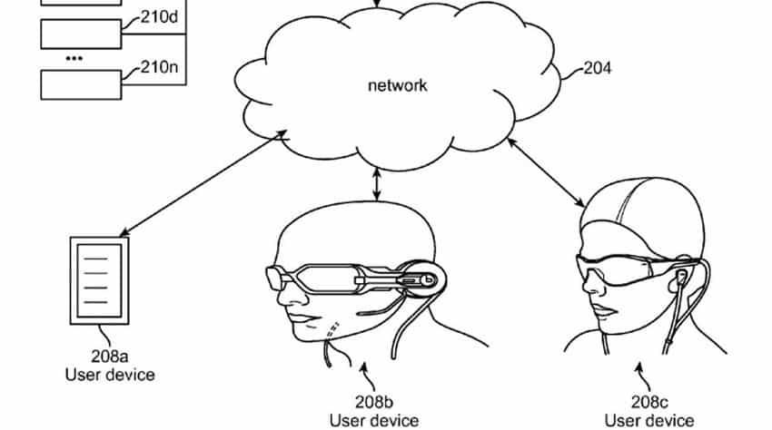 Ein Hinweis darauf, wie das Magic Leap System mit den Daten der Cloud interagieren wird.