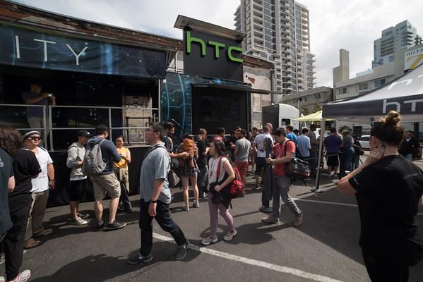 HTC Truck zum Vive VR ausprobieren
