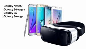 Alle Samsung Smartphones aus 2015 funktionieren mit der finalen Gear VR Version.