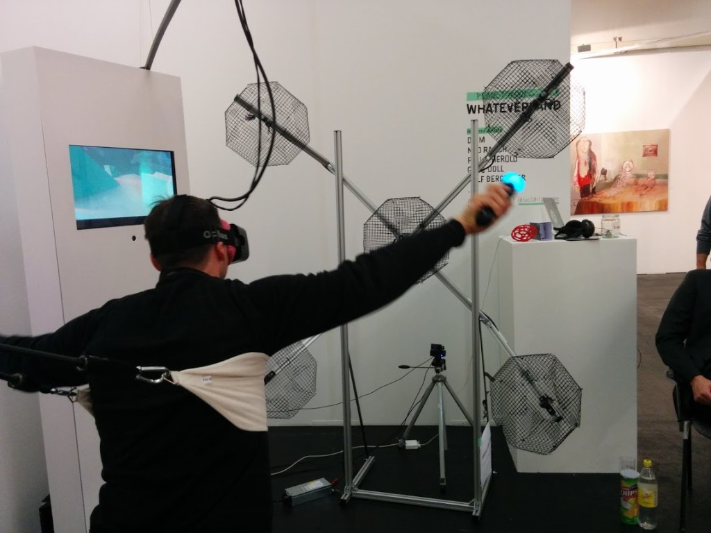 PS Move und Oculus Rift DK2