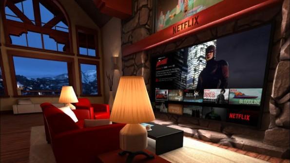 Netflix mit Gear - Das virtuelle Wohnzimmer