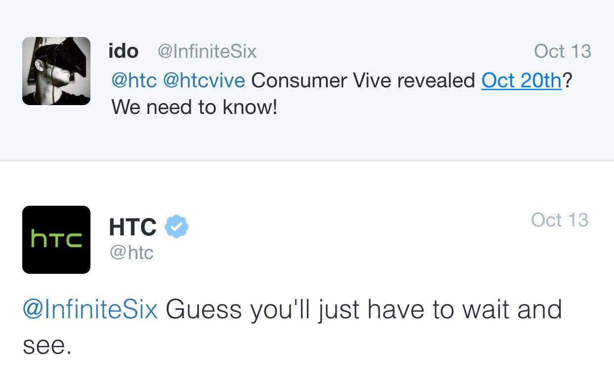 HTC Vive Vorstellung