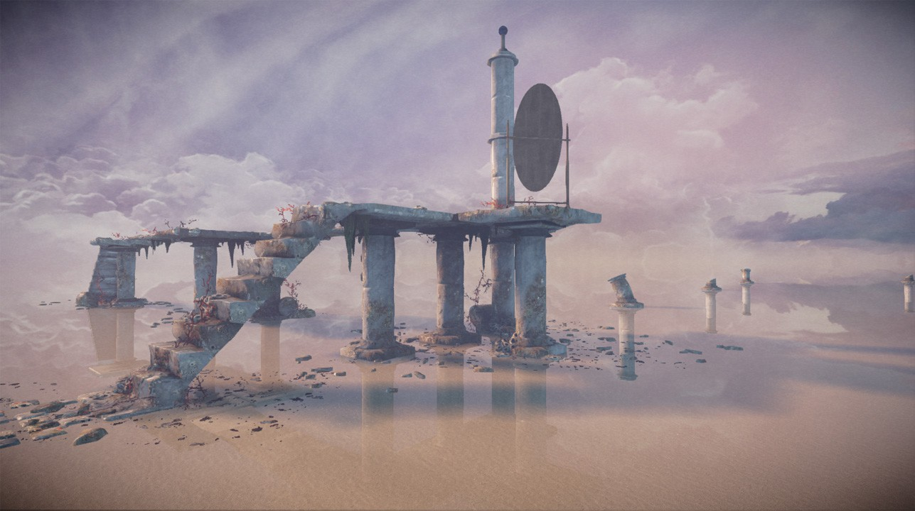MIND: Path to Thalamus Ruinen
