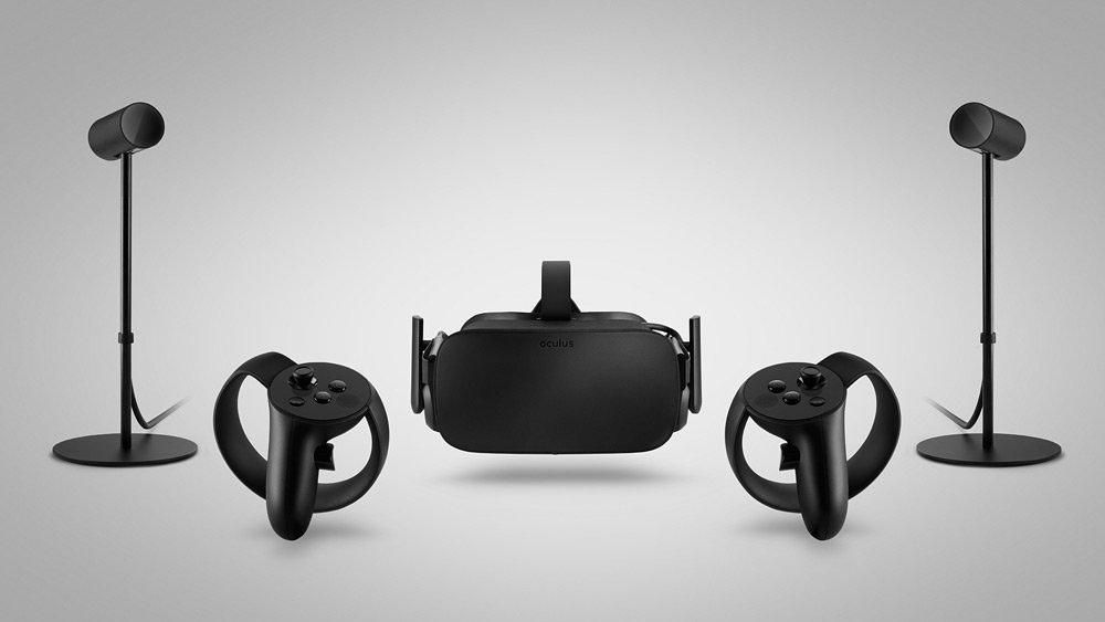 Oculus Rift, Constellaion, Oculus Touch Setup
