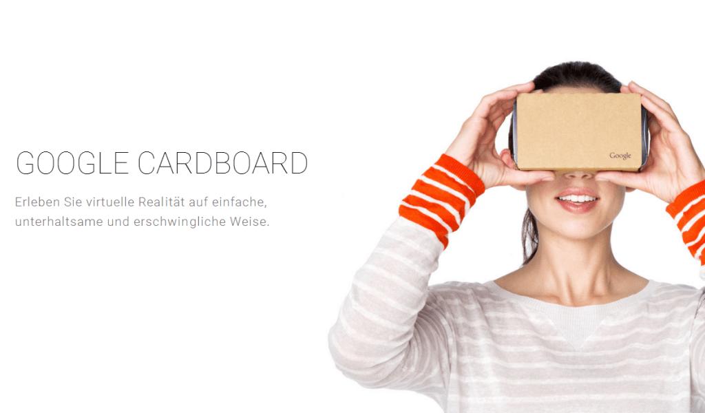 Google Cardboard Bild