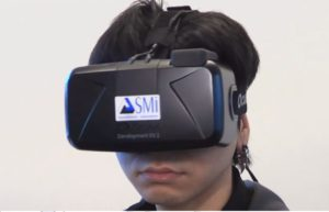 SMI Eyetrackingsystem in der Oculus Rift