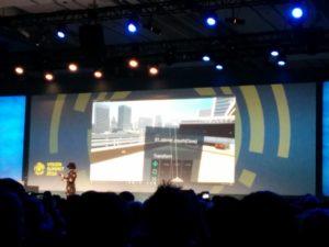 Unity VR Editor auf dem Vision Summit 2016