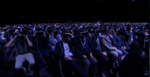 Ein Meer aus Gear VRs