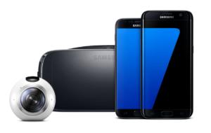 Gear 360, Gear VR, Samsung S7 und S7 Edge || Quelle: Samsung
