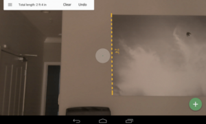 Project Tango MeasureIt