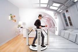 Cyberith Virtualizer verschiebt sich