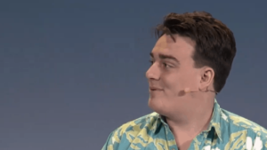 Palmer Luckey auf dem Vision Summit