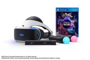 PlayStation VR Bundle mit PS Move Controller und PS Kamera