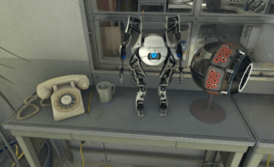 The Lab, Apenture Science, SteamVR, HTC Vive