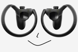 Komplexe Multi-Hand Interaktionen nur mit Oculus Touch
