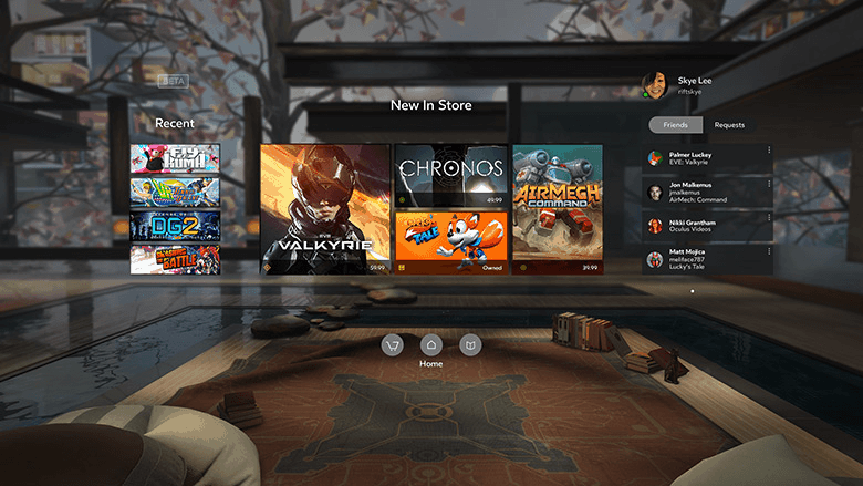 Oculus Home Screenshot