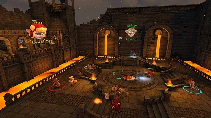 Herobound: Gladiators Screenshot von Oculus