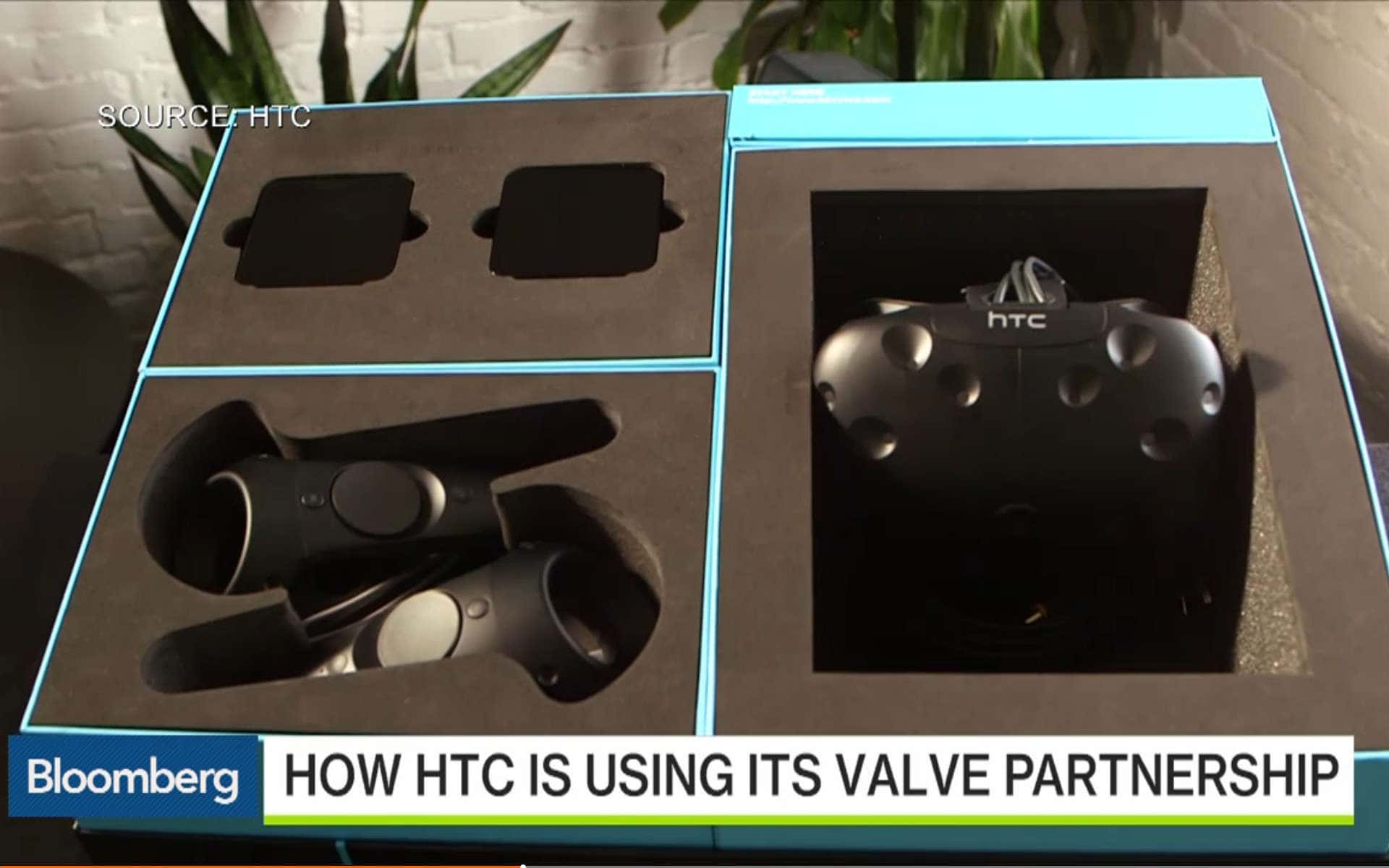Finale Verpackung der HTC Vive