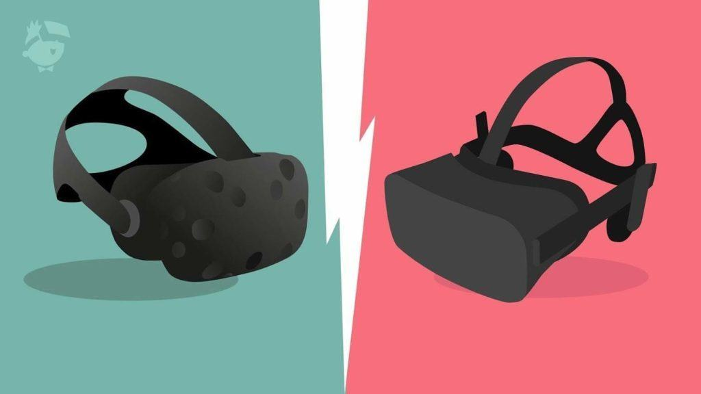 HTC Vive Pre vs Oculus Rift