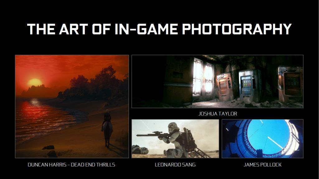 Videospiel Screenshot Kunst