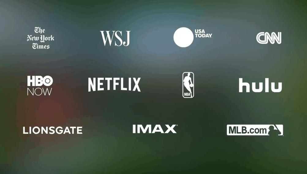 Streaming Dienste für Google Daydream