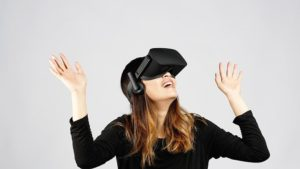 oculus rift frau