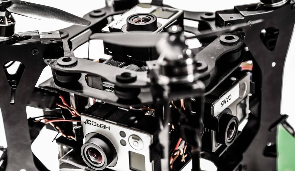 360 Grad Drohne
