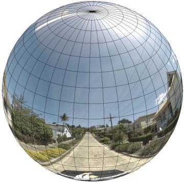 Panorama-Sphäre | Quelle: Google