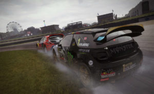 Dirt Rally mit Oculus Rift Support